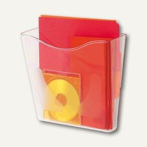 Wandprospekthalter A4 hoch, Plexiglas glasklar, CP078YT