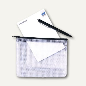 Mesh Bag Reißverschlusstasche DIN A5