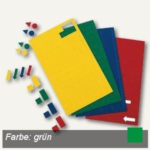 Hebel Magnetsymbole Pfeil, grün, 90 Stück, 6532455