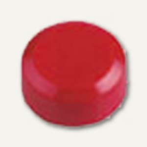 Rundmagnet 15 FA, Haftkraft: 0.17 kg, rot, 60 St