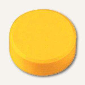 Hebel Rundmagnet 15 FA, Haftkraft: 0.17 kg, gelb, 60 Stück, 6175113