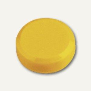 Rundmagnet 20 FA, Haftkraft: 0.3 kg, gelb, 60 St
