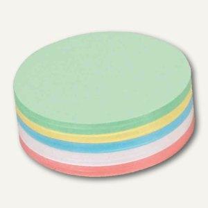 Moderationskarten - rund