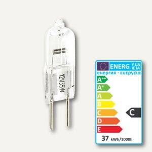 Halogen Stiftsockellampe mit UV-Schutz