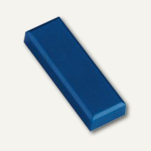 Rechteckmagnet 53 FA, Haftkraft: 1 kg, 20 St./Btl., blau, 6179135