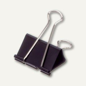 "Foldback-Klemmer ""mauly 215"", B:16 mm, Weite 5 mm, schw., 240 St.,, 2151690"