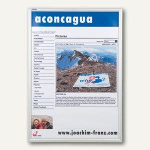 Plakat-Wechselrahmen für Außenbereich DIN A4