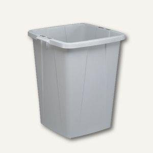Durable Abfalltonne DURABIN, 90 Liter, grau, 1800474050