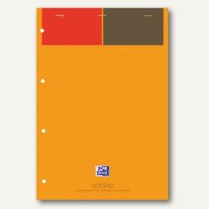Oxford Notizblock A4+ gelbes Papier 90 g/m˛, liniert, 5 St., 100100101