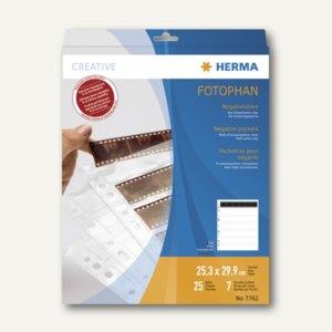 Herma Negativhüllen für 7x6 Negative, klar, 25 Hüllen, 7762