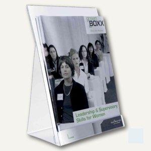 Prospektspender DIN A4 für ca. 200 Blatt