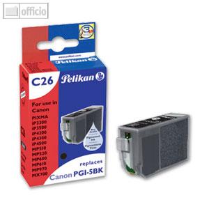 Tintenpatrone C26 für Canon PGI-5bk