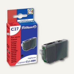 Tintenpatrone C27 für Canon CLI-8bk mit Chip