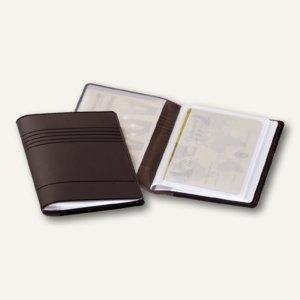Kreditkartenetui für 10 Kreditkarten, 85 x 54 mm, anthrazit, 50 Stück, 2394-58