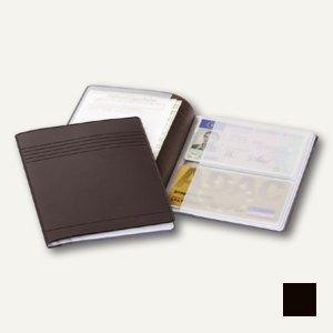 Ausweishülle m. 4 Taschen f. Ausweise u. Karten