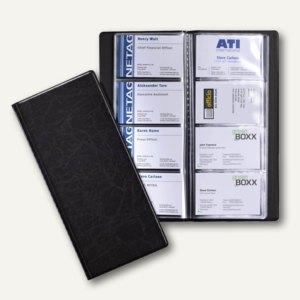 Durable Visitenkarten-Album VISIFIX für 192 Visitenkarten, schwarz, 2402-01