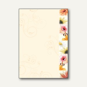 Motivpapier Flowerstyle
