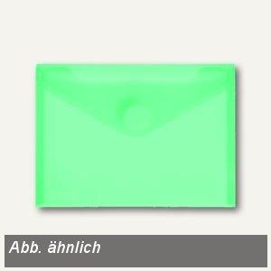 Umschlag transparent grün