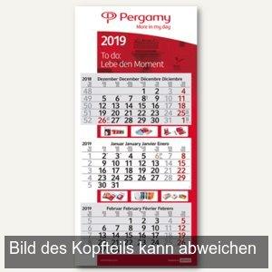 3-Monats-Wandkalender mit Kalenderblöcken