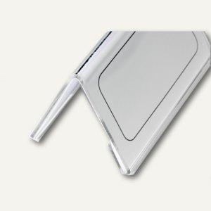 Tischnamensschild Dachform 52/104 x 100 mm