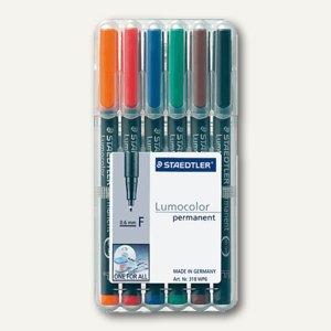 Lumocolor Universalstifte permanent 318 F
