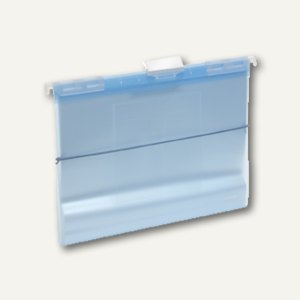 FolderSys Hänge-Sichtbuch A4 mit 20 Hüllen & CD-Tasche, blau, 10 St., 70044-44
