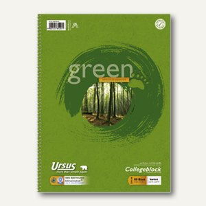 Collegeblock Green A4
