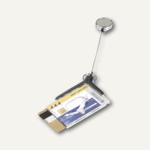 Doppelbox CARD HOLDER DE LUXE PRO DUO m. Metallclip/Jojo-Halter