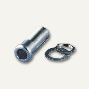 Luxo TE-Buchse für Lupen-/Tischleuchten, Zapfen 10/13 mm, Aluminium, 8990-014-0