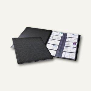 Durable Visitenkartenalbum VISIFIX 400 - für 400 Visitenkarten, schwarz, 2445-01