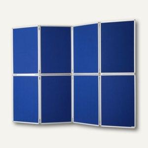 Mobile Präsentationswand/Raumteiler Filz