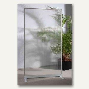 Officio Raumteilertrennwand Mit Acryl Oberfläche 180 X 100 X 50 Cm