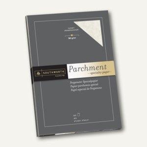 Southworth Pergament Papier, DIN A4, 90 g/qm, elfenbein, 80 Blatt, 90150