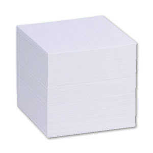 Folia Ersatzpapier für Zettelbox weiß