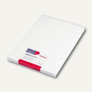 Signolit Selbstklebefolie DIN A4, f. Farblaserdrucker, weiß glänzend, 100 Blatt