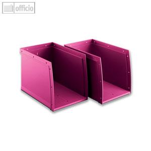 Moll Rotafile Databoxen Set A Fur Buro Utensilien Pink 2 St Set