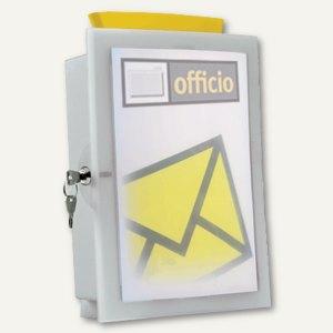 Combi-Box Image'IN, Wahlurne/Briefkasten, grau, 4102-11