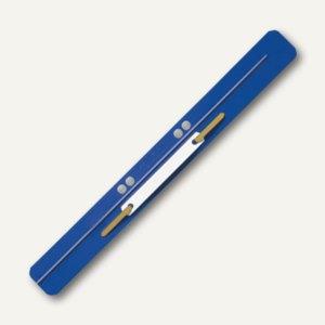 LEITZ Heftstreifen, 35 x 310 mm, PP-Folie, blau, 25 Stück, 3711-00-35
