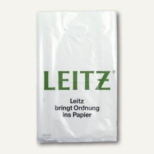 Plastik-Tragetasche mit Leitz-Aufdruck