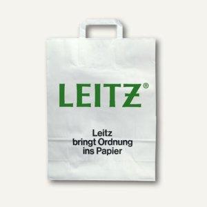 Papier-Tragetasche mit LEITZ-Aufdruck