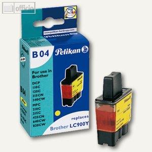 Tintenpatrone B04 gelb für Brother DCP-110C kompatibel zu LC900Y