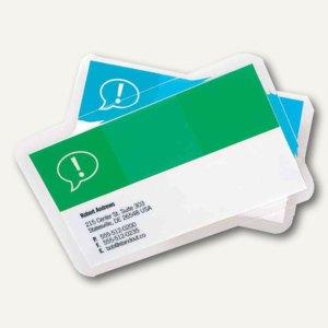 Laminierfolientaschen Scheckkarte