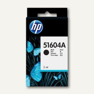 HP Patrone InkJet für Normalpapier, schwarz, 51604A