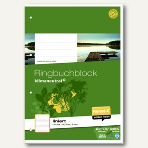 Ringbuch-Block