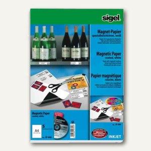 Inkjet-Magnet-Papier