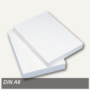Kopierpapier DIN A6, 80 g/m˛, holzfrei, weiß, 2.000 Blatt