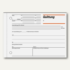 Formularbuch Quittung