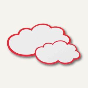 Moderationskarten Wolken