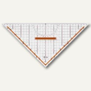 """Zeichen-Dreieck """"Centro"""", Hypotenuse: 320 mm, abnehmbarer Griff,S0699270"""