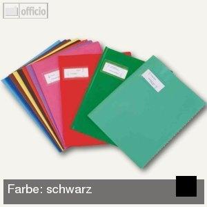 "Heftschoner ""Styl'SMS"", 240x320mm, PVC, schwarz, 25 St"